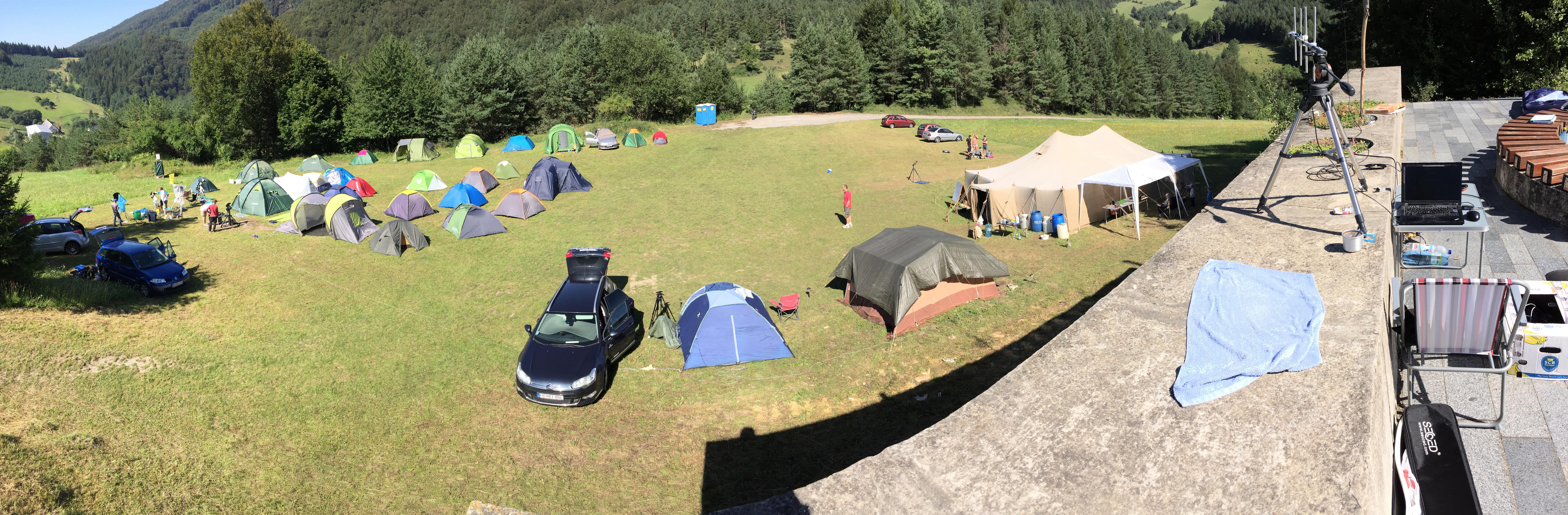 Expedícía Vrchteplá 2016 - stanový tábor
