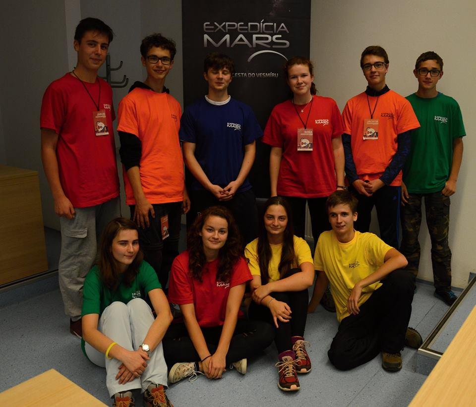 Obr.1: Finalisti súťaže Expedícia Mars 2016