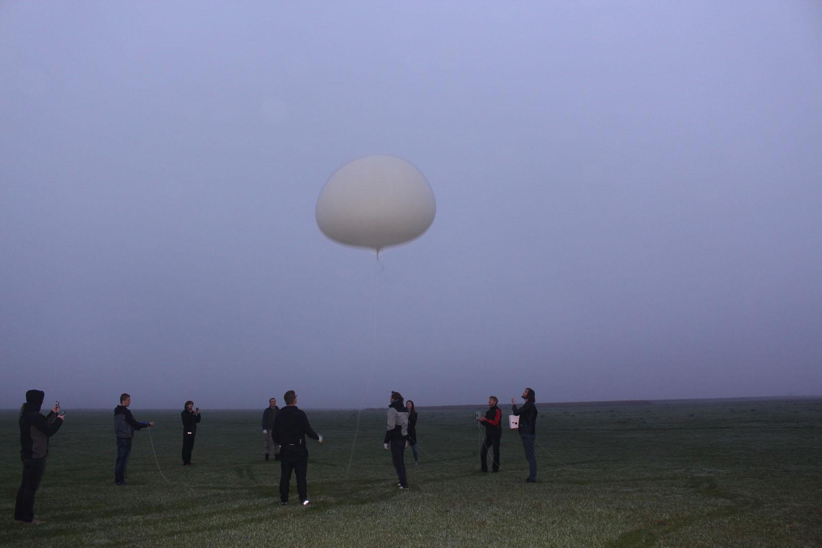 Expedice Mars v oblakoch