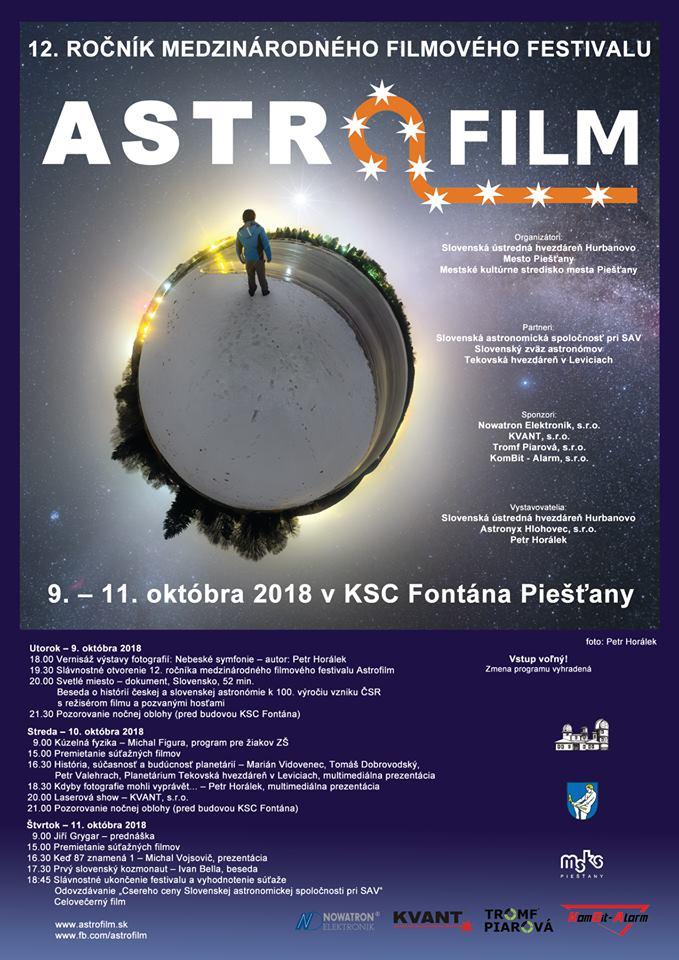 Astrofilm 2018