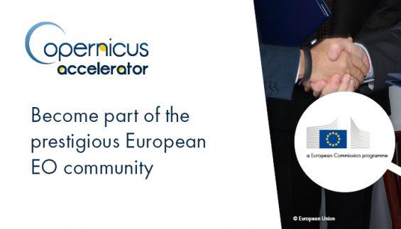 Unikátna možnosť získať miesto v Copernicus Accelerator pre váš start-up