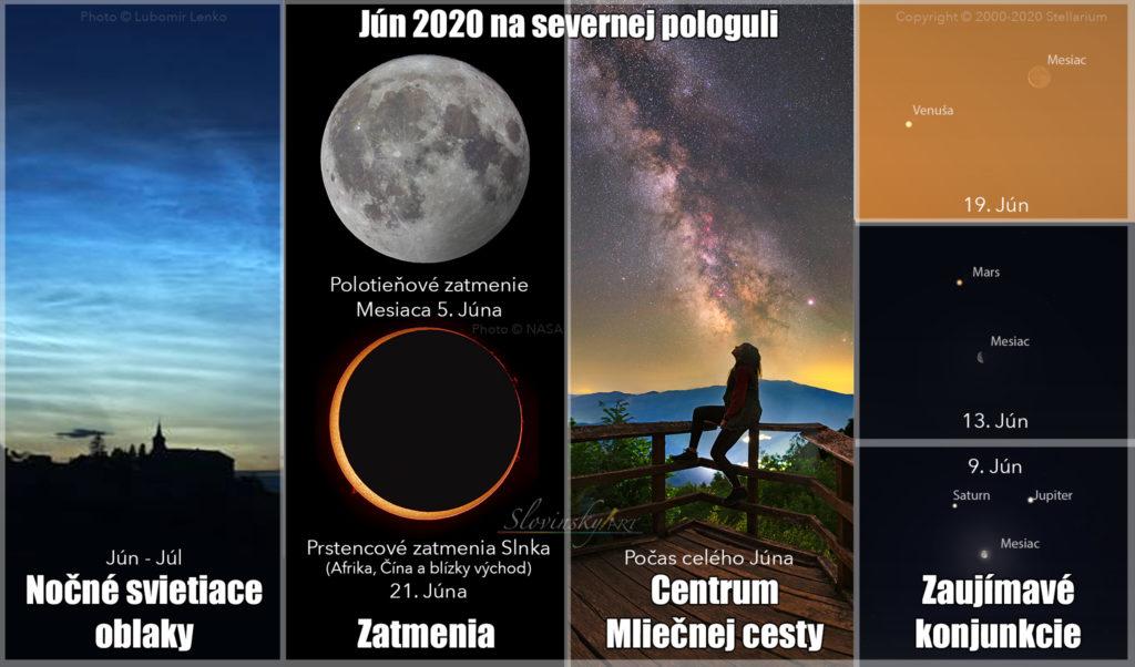 Júnová obloha 2020