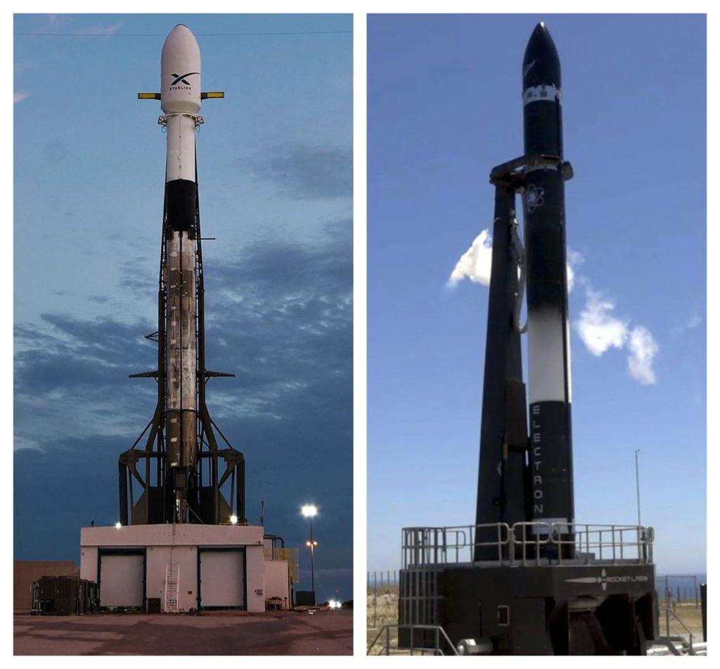 Víkend bude patriť Rocket Lab a SpaceX