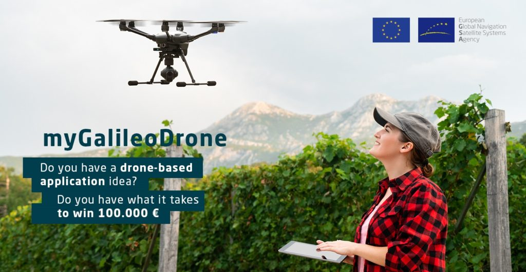 Súťaž myGalileoDrone hľadá invovácie v oblasti bezpilotných lietadiel