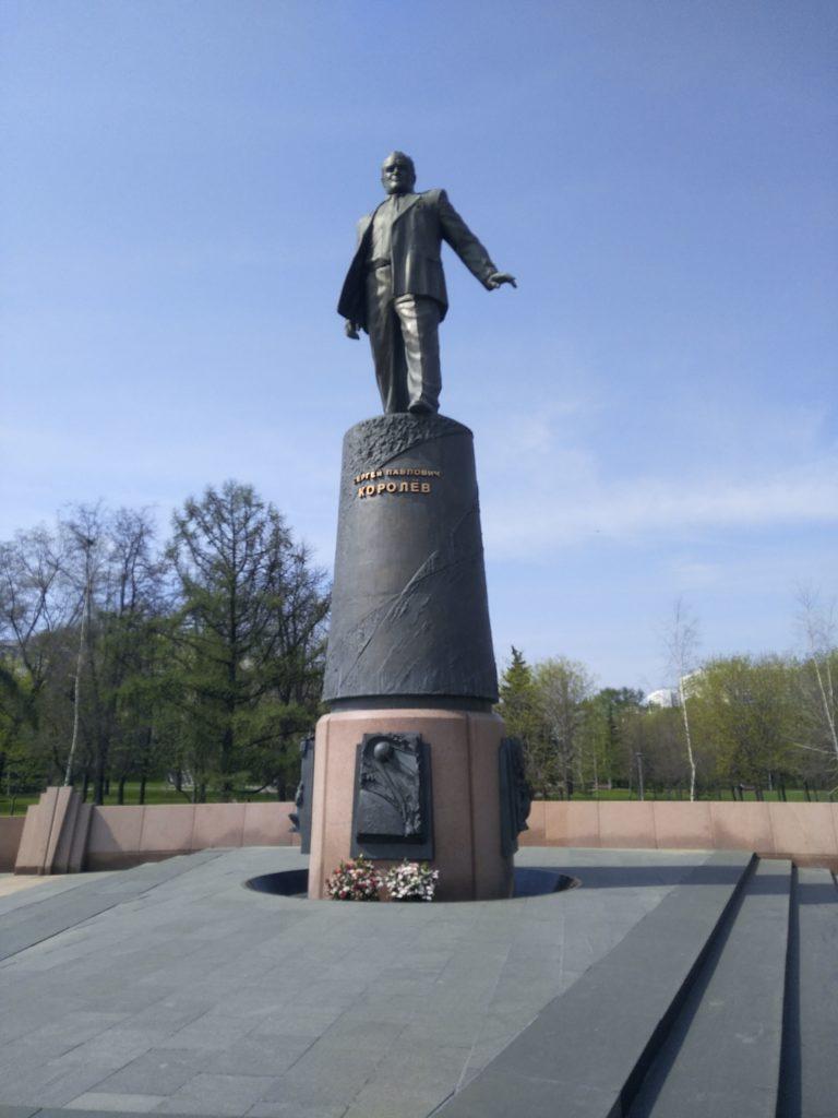 Socha Sergeja Koroleva