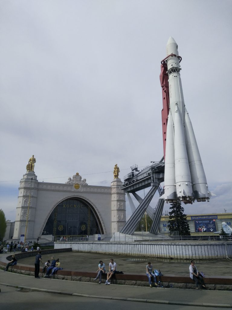Fontána - raketa Vostok