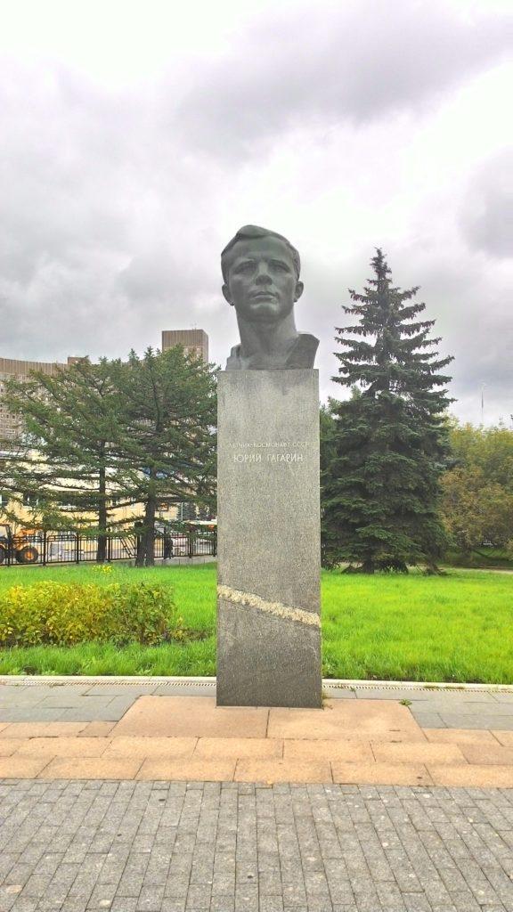 Jurij Gagarin socha