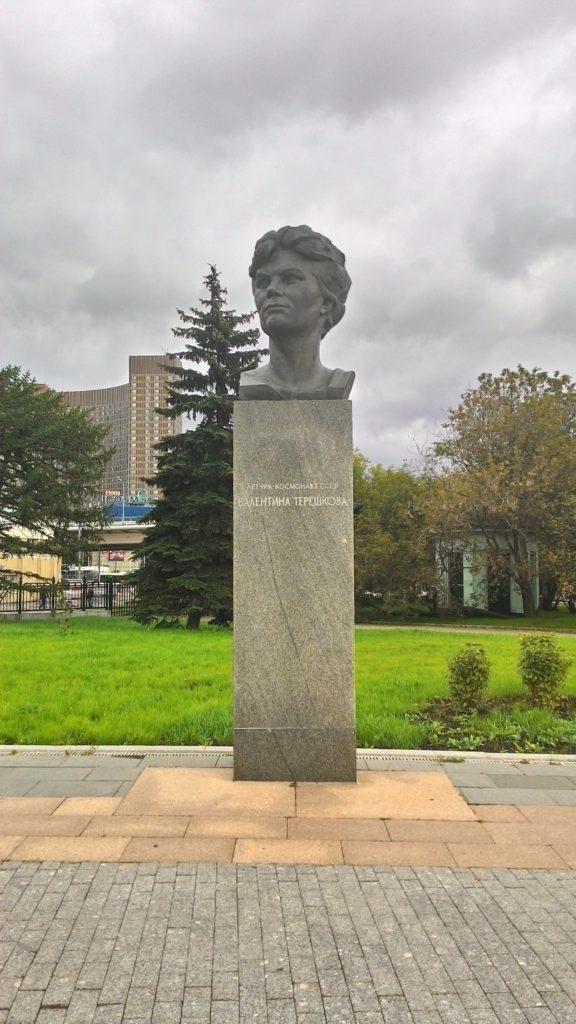 Valentina Tereskovova socha